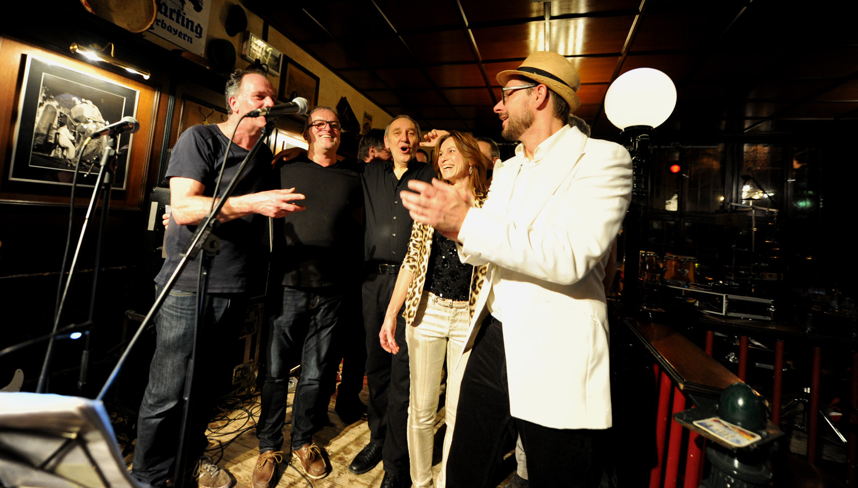 Funk Affair live im Hauptbahnhof Tuebingen Januar 2019